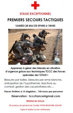 Stage de TCCC en France