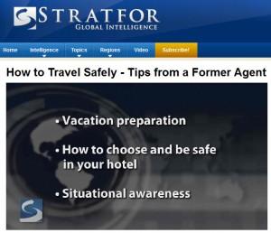 Les conseils de Stratfor