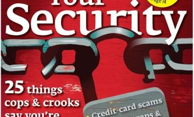 ConsumerReports fait un dossier sur la sécurité