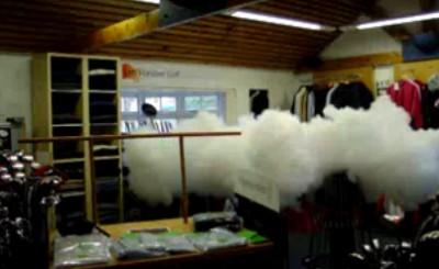 Protection contre le vol par fumée