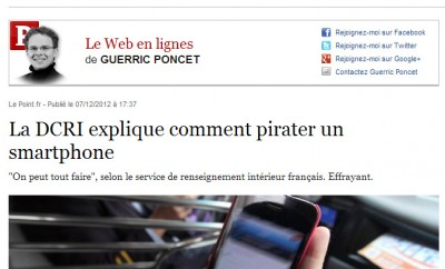 Comment pirater un smartphone ?