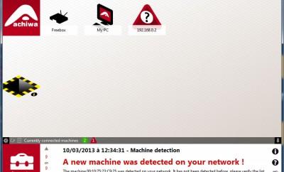 Achiwa, détecter les intrus sur votre Wifi