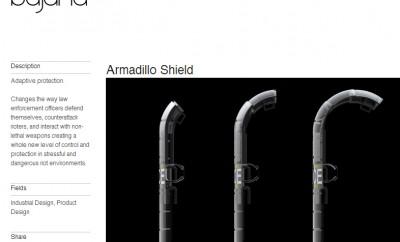 Armadillo Shield, un nouveau concept de bouclier anti-émeutes