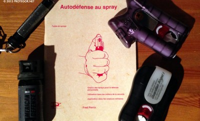 Autodéfense au spray