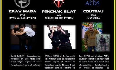 Stage Krav + Penchak + ACDS (1e juin)