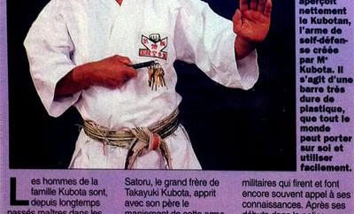 Les variations du Kubotan