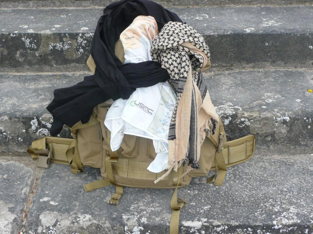 Cheche, Shemagh, foulard de survie