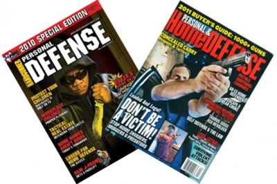 USA, magazines sur la défense personnelle
