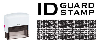 ID Guard Stamp, masquer ses informations personnelles