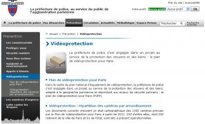 Vidéoprotection à Paris, où êtes-vous filmés ?