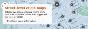 Carte des crimes… en Angleterre