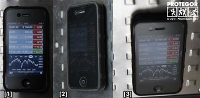 Filtre de confidentialité pour smartphone