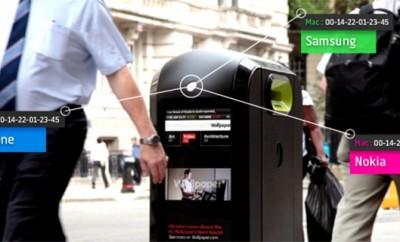 Londres : les poubelles vous espionnent
