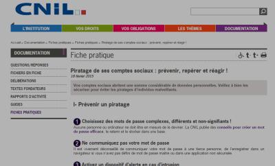 Les conseils de la CNIL pour ne pas se faire pirater ses comptes «réseaux sociaux»