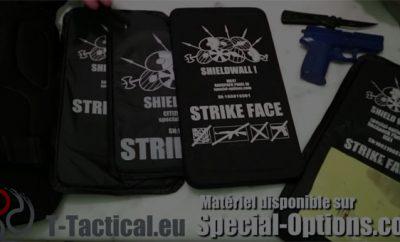 Shieldwall MK47, plaque pare-balles de sac