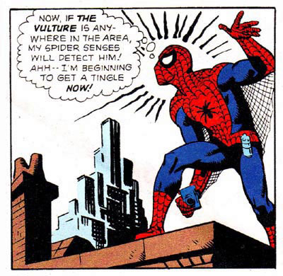 L'intuition de spiderman !