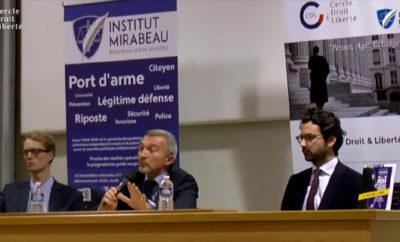 Laurent-Franck Lienard sur la Légitime Défense