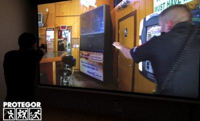 Laser Shot, un simulateur de tir chez Police Action Solidaire