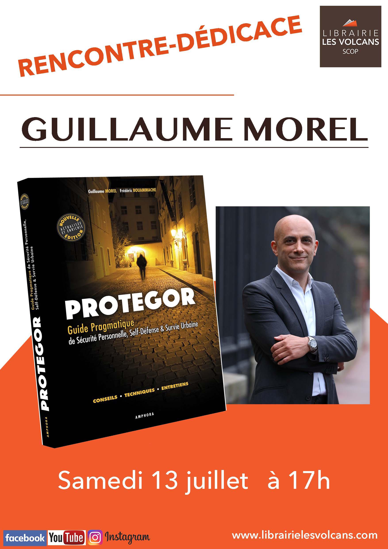 Rencontre dédicace Protegor / Guillaume Morel aux Volcans