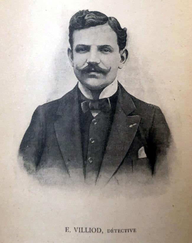Eugène Villiod, détective et auteur