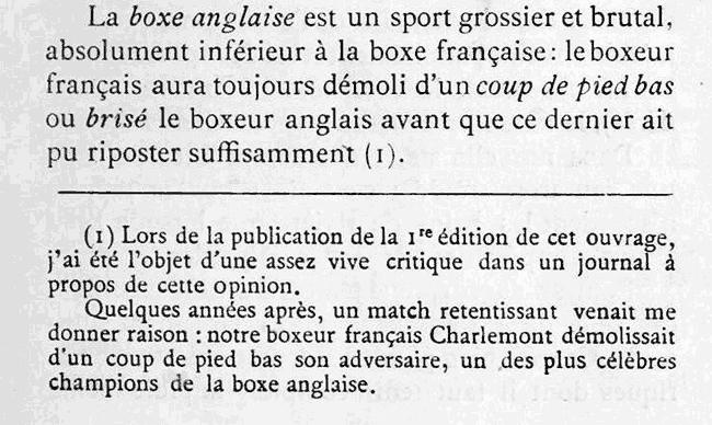 Extrait de Guide pratique des exercices physiques du Dr Roblot, 1903