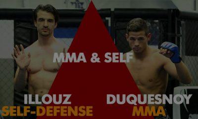 MMA & Self-Défense, échanges entre Tom Duquesnoy & Michaël Illouz