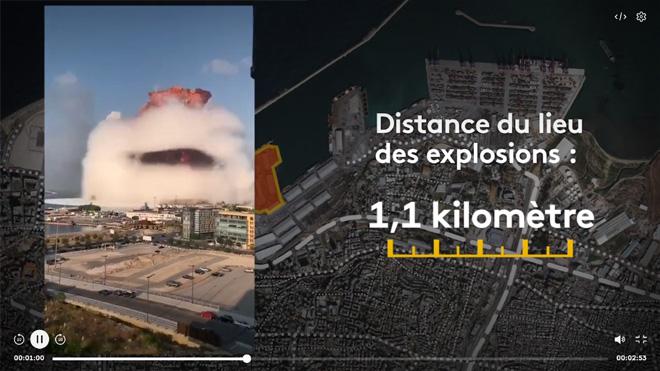 Explosion à Beyrouth, 4 août 2020