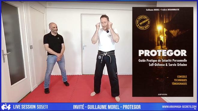 Yann Vei & Guillaume Morel dans le Live de Krav Maga Secrets