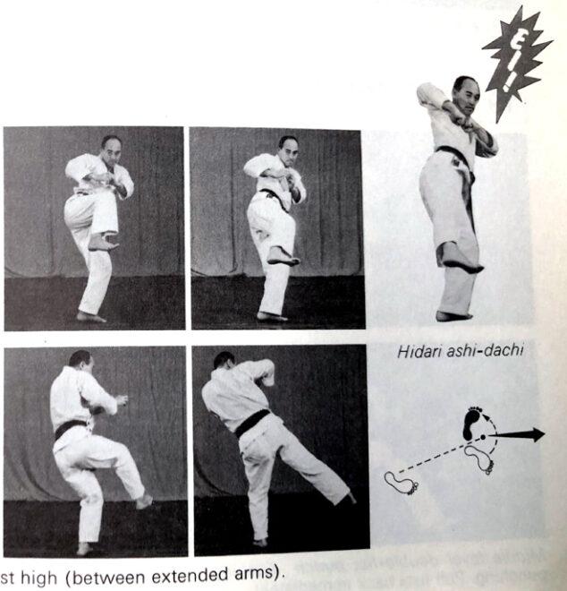 Bassai-Dai dans la série Best Karate (Nakayama)